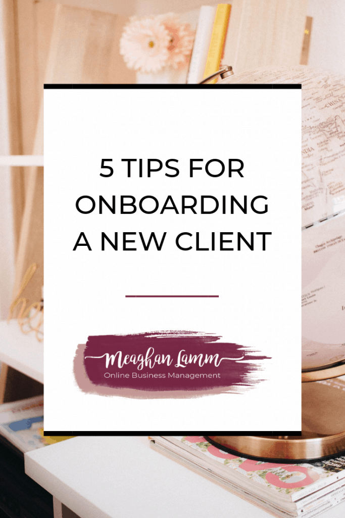 5 tips for onboarding a new client https://www.inspiredsolutionsco.com/onboarding-new-client/