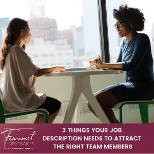 Job Descriptions To Attract The Right Team Members